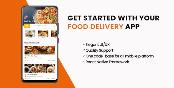 Restaurant and Food Delivery App